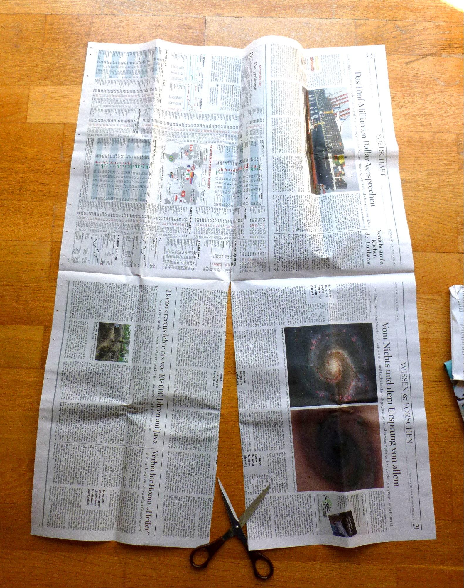 06 Zeitungzuschneiden