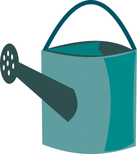 watering can, watering, can