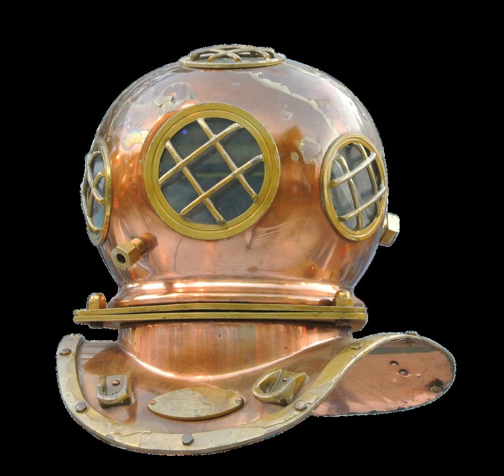 divers, helm, divers helmet