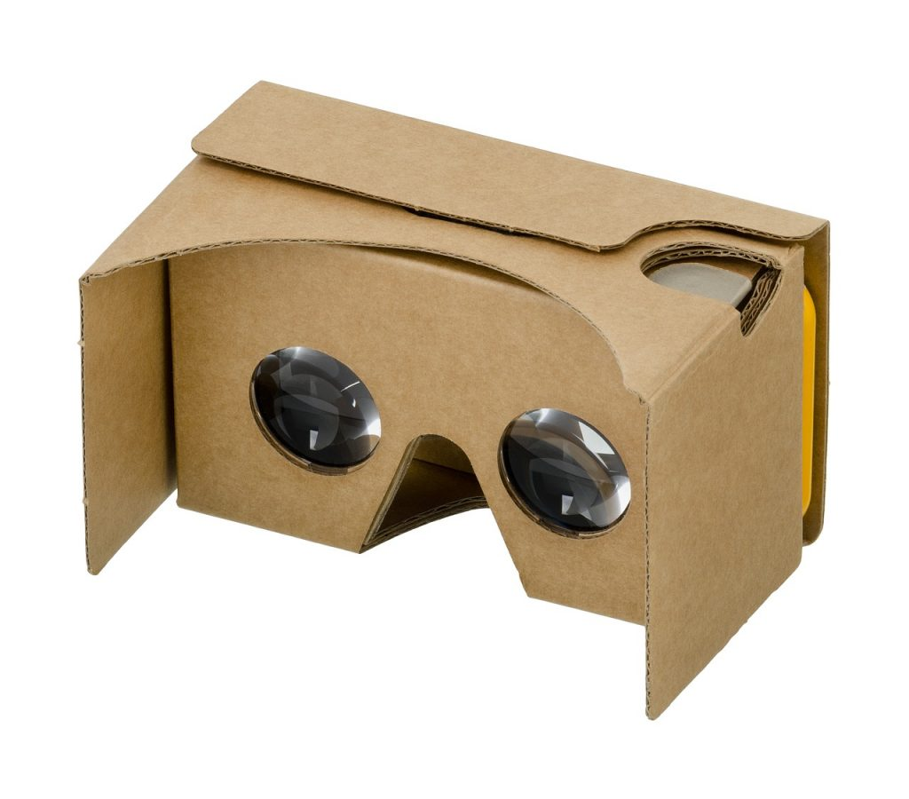 google, cardboard, 3d