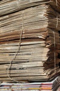 waste paper, paper, waste